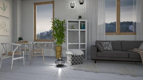 Neutral Tone - Modern - Living room  - by millerfam