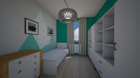 Iwaszkiewicza_Olawa_Just8 - Kids room  - by mbanikzakupy