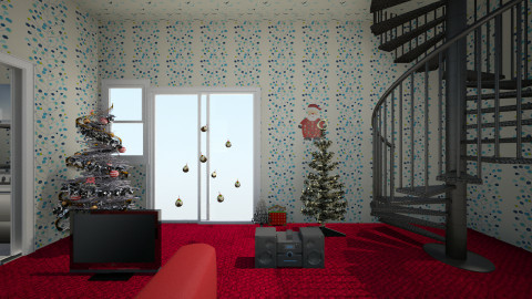Christmas Comfort - Retro - Living room - by arekwarren5