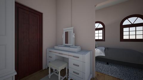 make_up table - Modern - Bedroom - by Banana543
