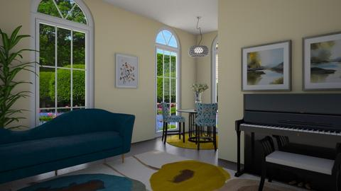 Fusia - Living room  - by Aneladgam