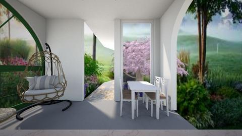 alcove - Garden  - by MYRONOVYCH