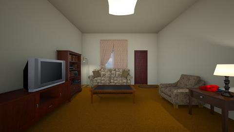 Vintage Retro Home - Living room  - by mspence03