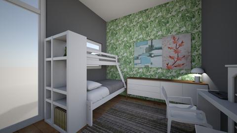 Bedroom Remodel - Modern - Kids room  - by apumua