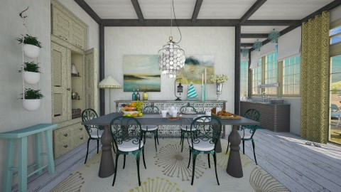 Sea Breeze - Country - Dining room  - by starsector