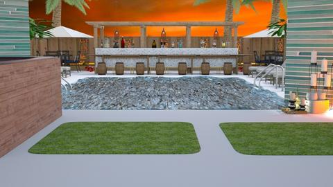 Hotel Pool Template - by Feeny