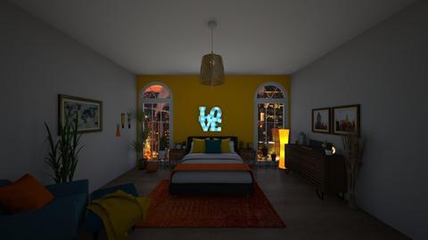 Fall - Modern - Bedroom - by MissT9