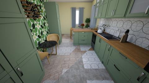 Iryna - Kitchen  - by kubpsy
