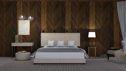 M_ Cream - Bedroom - by milyca8
