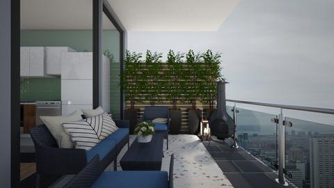 SAGE apartment 2 - Garden  - by t harv