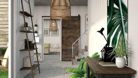 Urban J Hallway - by KimAlys