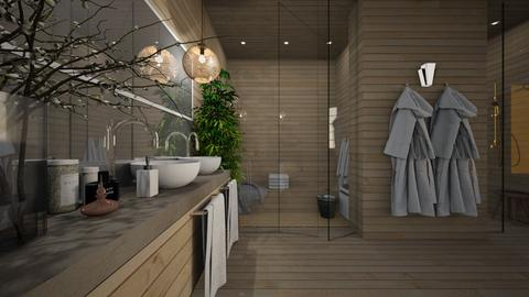 Sauna - Minimal - Bathroom  - by Claudia Correia