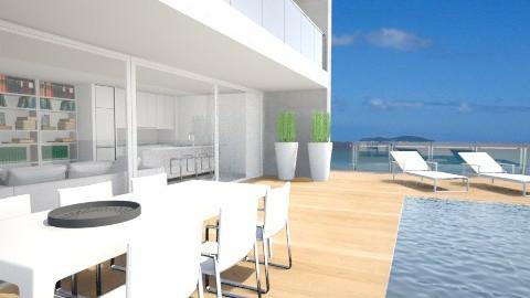oceanfront - Garden  - by fre82