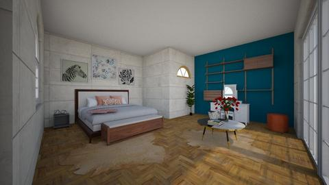 pop  - Bedroom - by Charlene Atouri