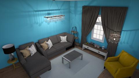 Living Room 1 - Living room - by Seba Murrey