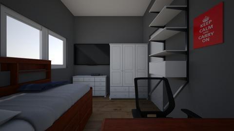 Bedroom of Mike - Bedroom  - by Mike_Rocks