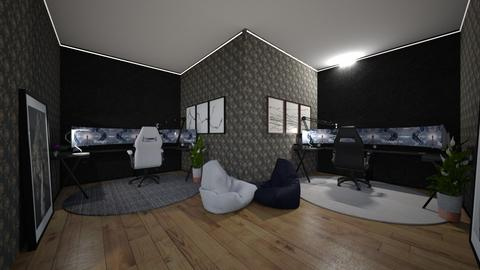 Super Duper Gaming Room - Office  - by Chunksthewhale