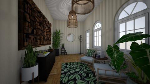 jungle hallway - by Gozome