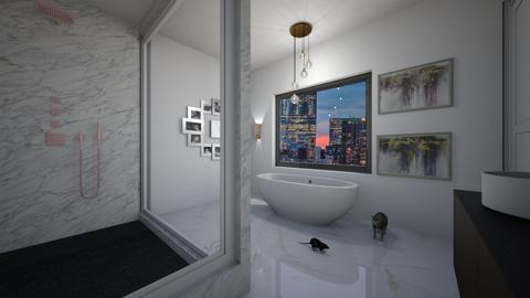 65 - Modern - Bathroom  - by vallequeen