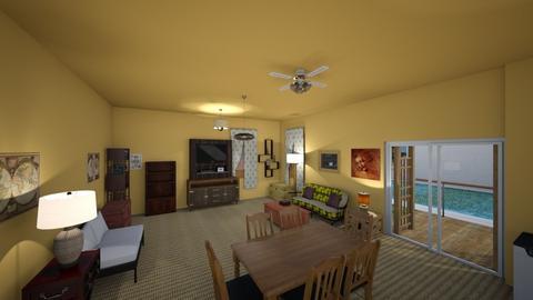 Villa Room - Living room  - by mspence03