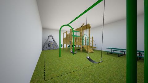 Garden Green Playground - Kids room  - by SMRiley