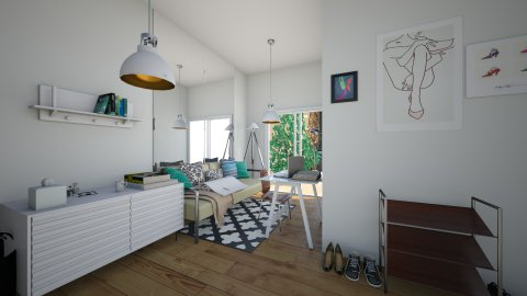 Modern Dorm Apartment - by Sunny Bunny