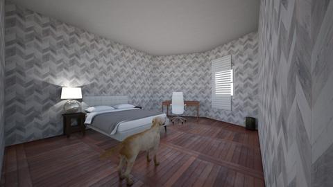 Cozy bedroom - Modern - Bedroom  - by Thinknoodles_Fan