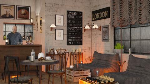 Jan Steens Pub - by Sally Simpson