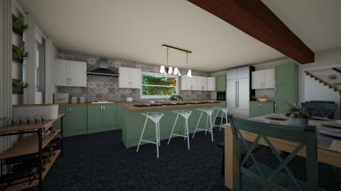 Kitchen - by CourtneySimmonds