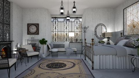 M_Wrought iron idea - Bedroom  - by milyca8