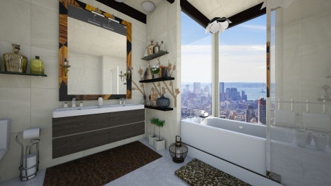 penthouse - Modern - Bathroom  - by lamzoi
