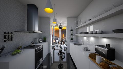 Kithen conservatoty - Modern - Kitchen  - by soralobo