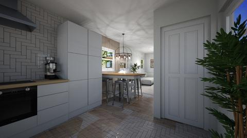 Amsterdam Houseboat - Kitchen  - by Lisett