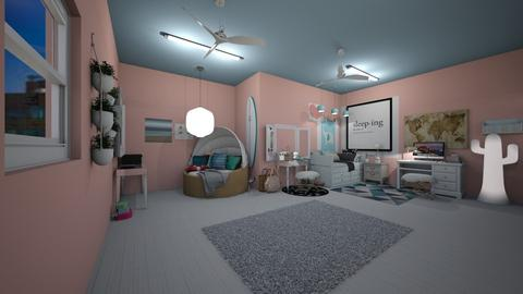 My room - Glamour - Bedroom  - by unicornlovescupcakes101