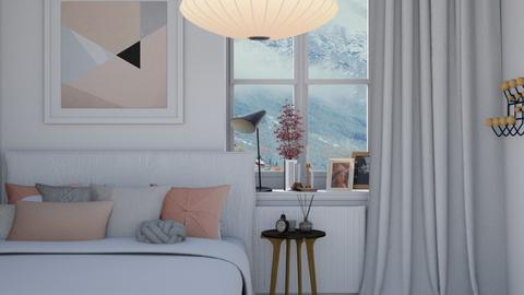 Frozen Pink - Modern - Bedroom  - by HenkRetro1960
