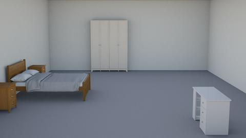 like my bedroom but plain - by k2008