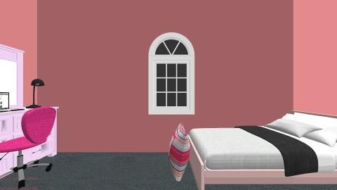 Opposite twin bedrooms - Bedroom - by Harley Eckert