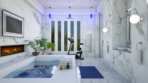 marmo  - Modern - Bathroom  - by Ida Dzanovic