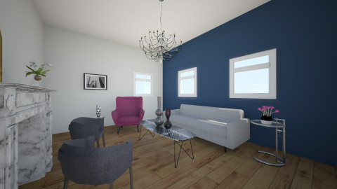 Glam living room - Glamour - Living room  - by Tody12345