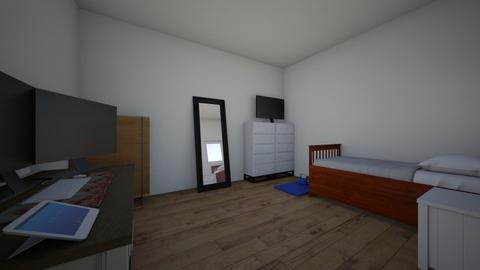 habitacion 1 - Masculine - Bedroom  - by fr4m4