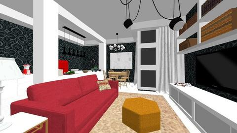 Young Aptm Renovado - Eclectic - Living room  - by PFrate