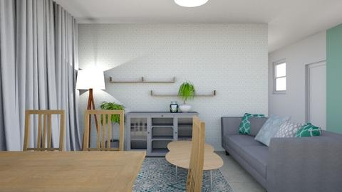2222 - Living room - by inbalisima