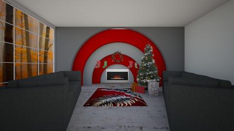 Chrismas - Living room  - by rona123
