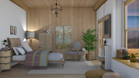 Feng Shui bed - Bedroom  - by nat mi