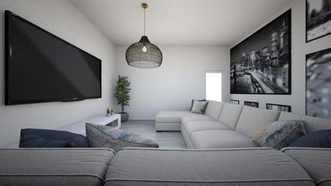 cah santos - Living room  - by carolyne_moreirah