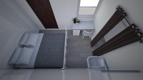 kamer Gondy part 2 - Modern - Bedroom  - by gondyhelsper