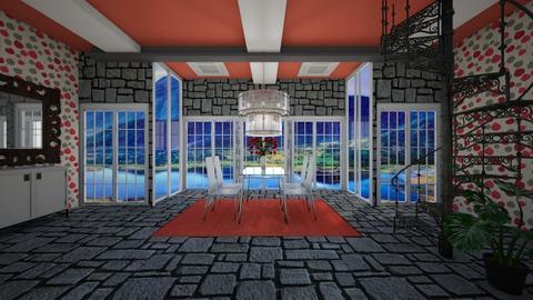 RCr - Modern - Dining room - by Saj Trinaest