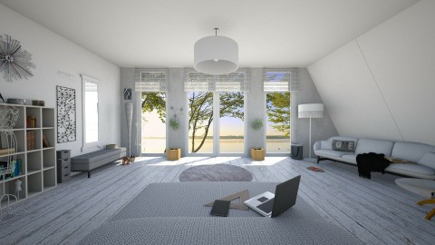 Design 7 Bedroom - Modern - Living room - by ExpressYourself