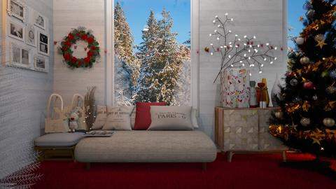 snow charismas room - Modern - Living room  - by wijesinghe