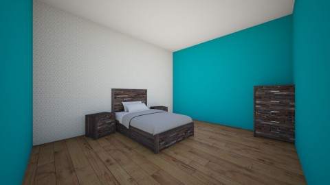 Modern Boy Bedroom - Bedroom - by Izzysmith